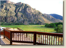 Rainbow Canyon Retreat View